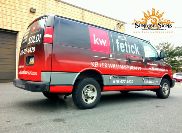 Chevy Express Realtor Vehicle Wraps
