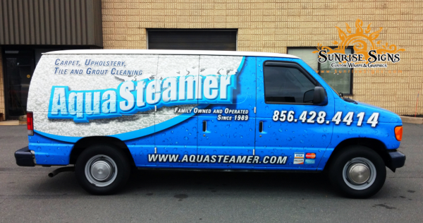 South Jersey Contractor van wraps