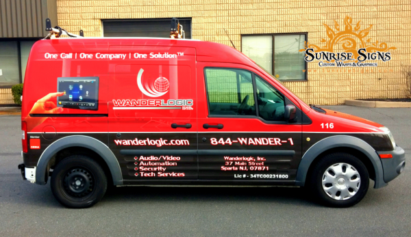 2010 Ford Transit Connect Vehicle Wraps South Jersey