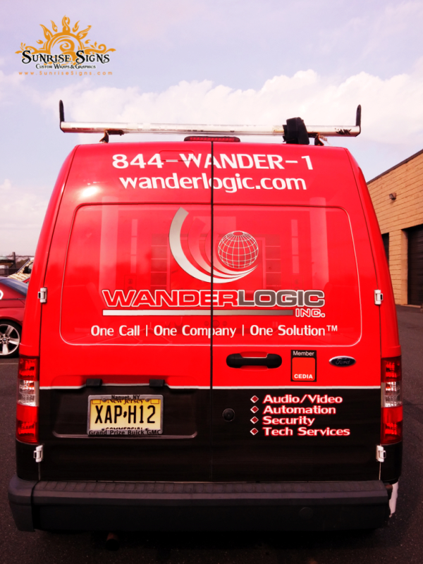 Service Contractor van wraps South Jersey