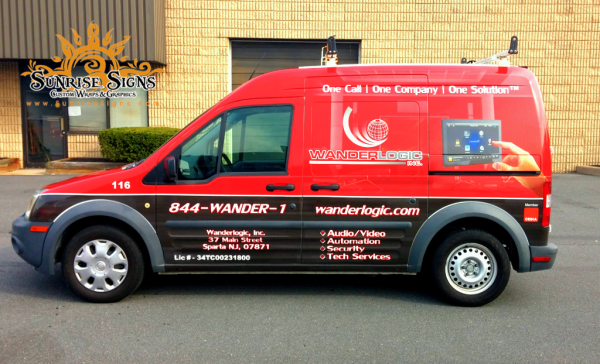 South Jersey Ford Transit Connect Van Wraps