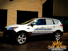 Ford Escape Fleet Vehicle Wraps