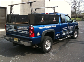 Chevy Silverado Lettering - Chevy Silverado Lettering for renovation contractor