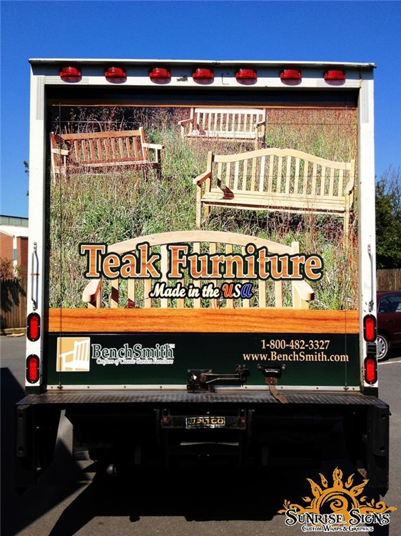 Retail Box Truck Graphics