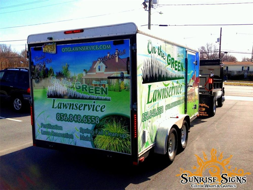 landscape trailer wraps - Trailer Graphics & Wraps Idea GallerySunrise Signs