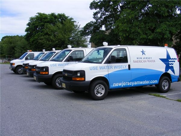 E350 Van Graphics for water company