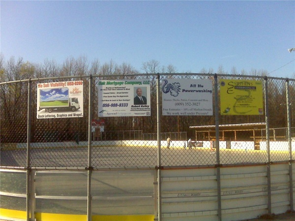 sponsorship fence signs - sponsorship fence signs for local businesses
