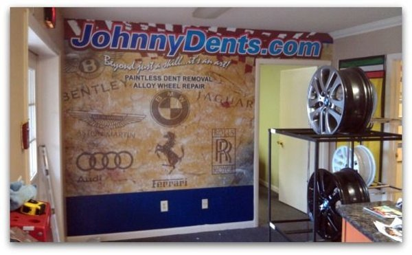 Wall Wrap - Wall Wrap for auto body shop