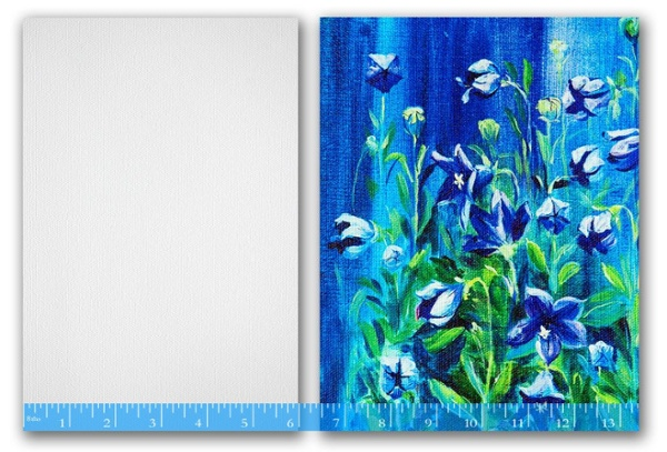 Artist Canvas custom wall mural covering