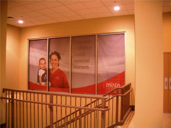 Window Mural - Window Mural for home health care service