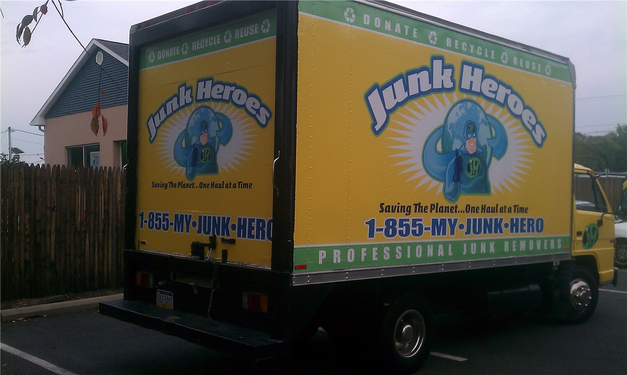 Junk removal company wraps