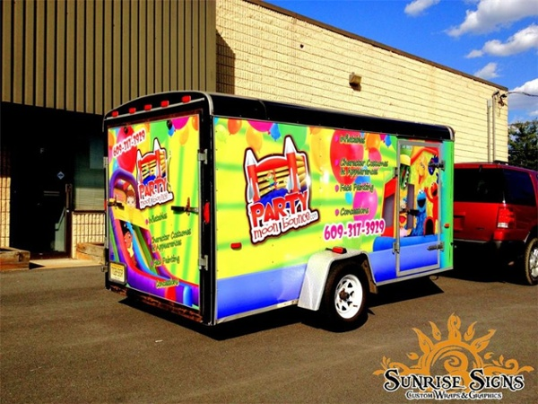 Event Company Trailer Wraps