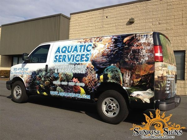 Chevy Express van wraps