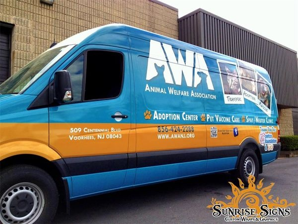Sprinter Vehicle Wraps