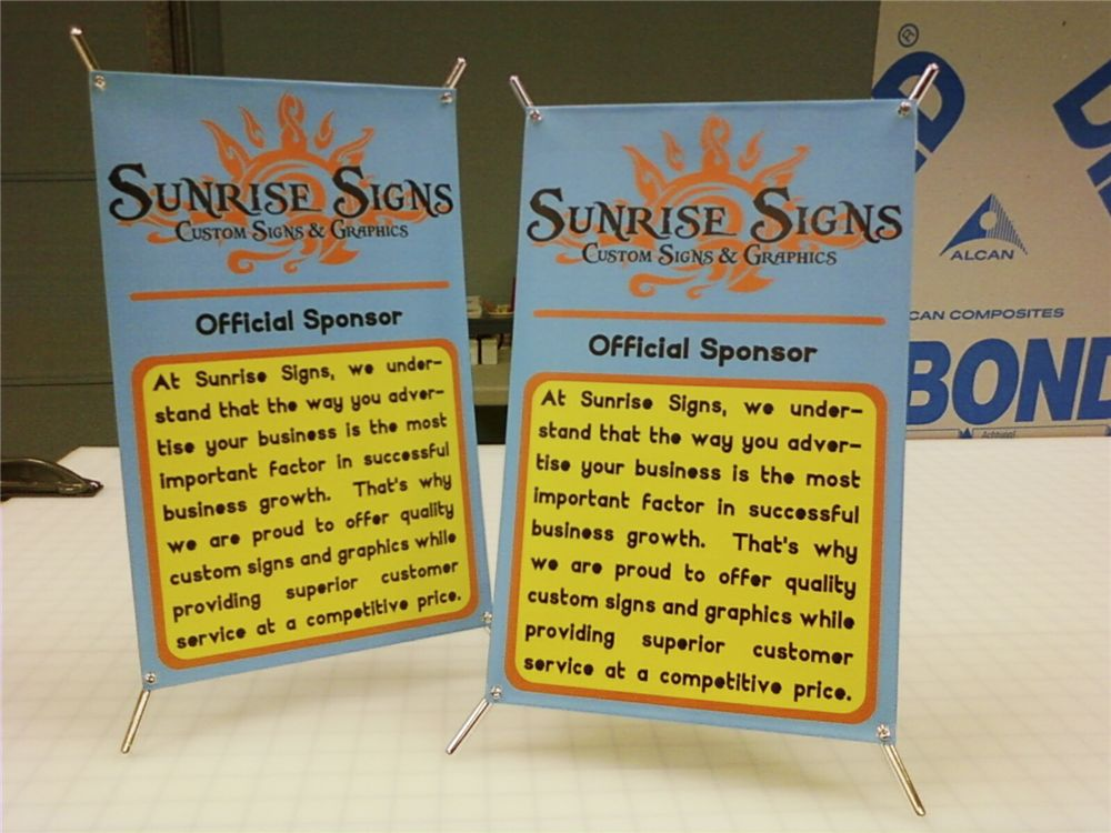 Mini Trade Show Display - Mini Trade Show Display for sign company