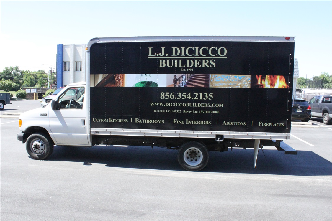 Box Truck Graphics - Box Truck Graphics for contractor