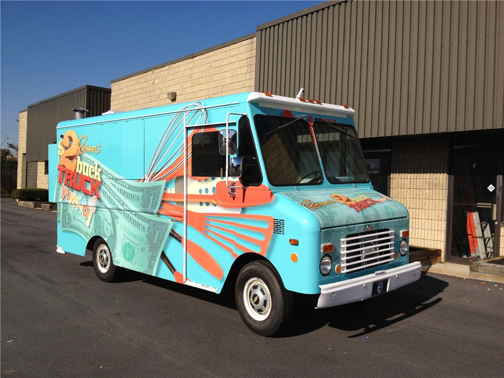 Food Truck Wrap for the Rachael Ray Show