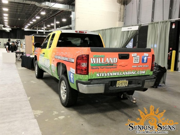 chevy silverado full truck wraps