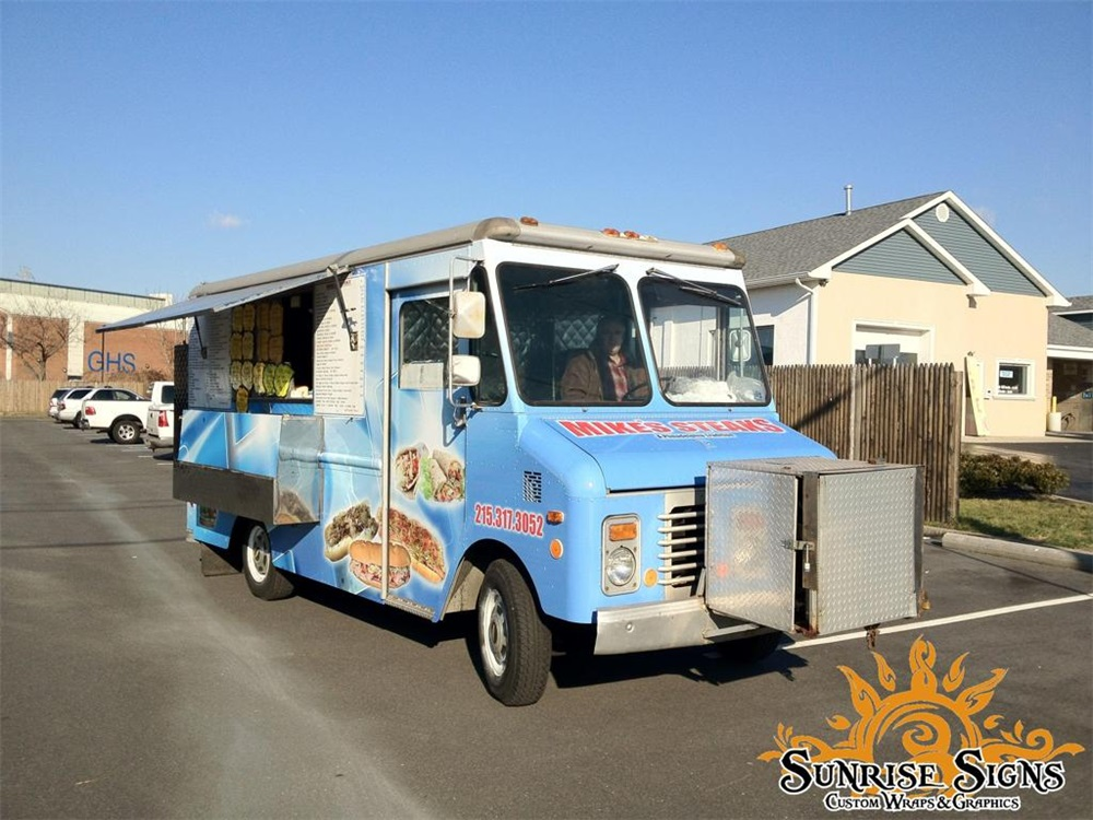 street food truck graphics wraps