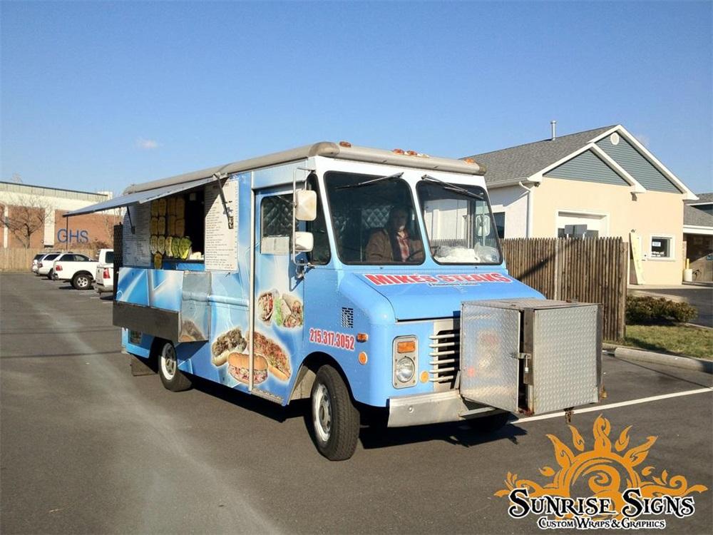 street food truck graphics wraps