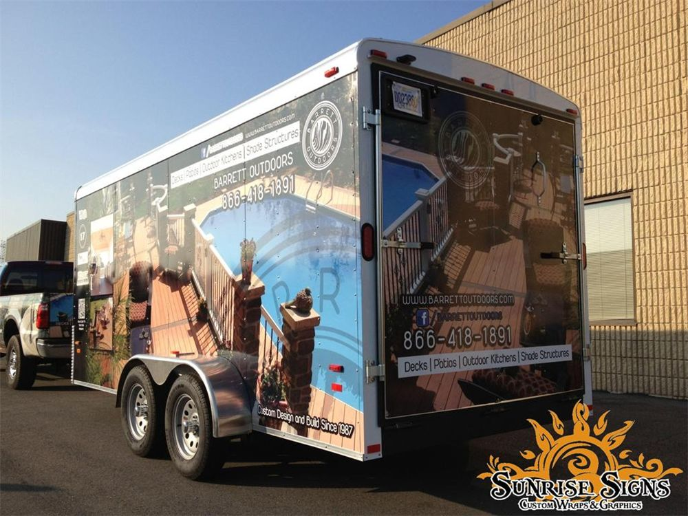 Landscape Hardscape Trailer Wraps Graphics