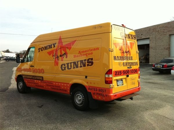 Ford Transit Van Wrap - Full Ford Transit Wrap for bbq restaurant