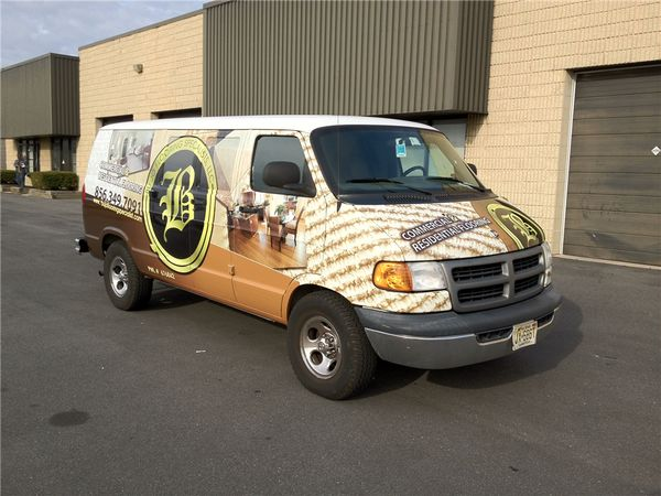 flooring and carpet company vehicle wraps