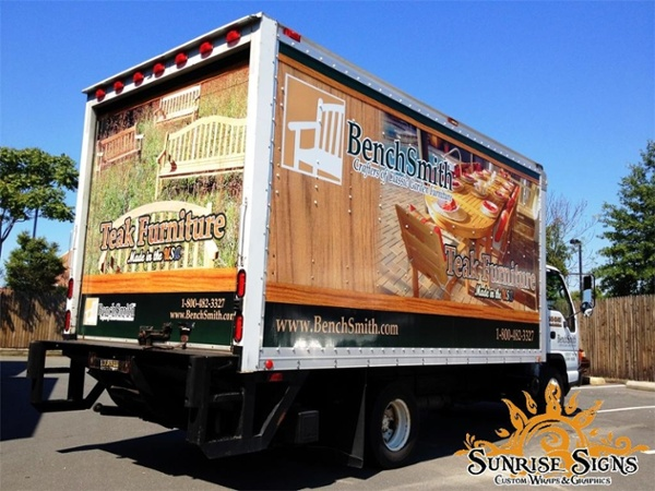 Furniture Store Truck Graphics