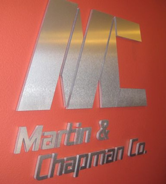 Metal Letter Sign - Metal Letter Sign for company
