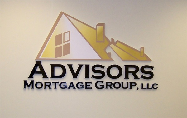 Logo Lobby Sign - Logo Lobby Sign for mortgage group