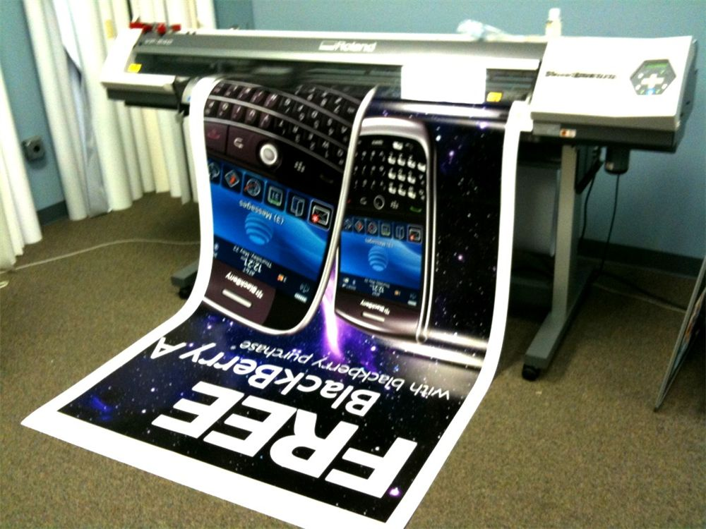 Large Format Posters - Large Format Posters for wireless service