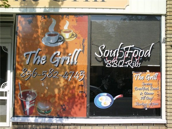 Window Graphics - Window Graphics for restaurant