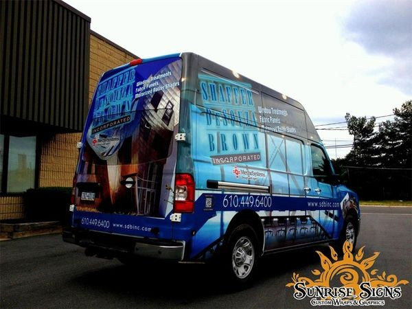 nissan nv van wraps