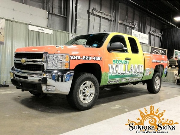pickup truck wraps New Jersey