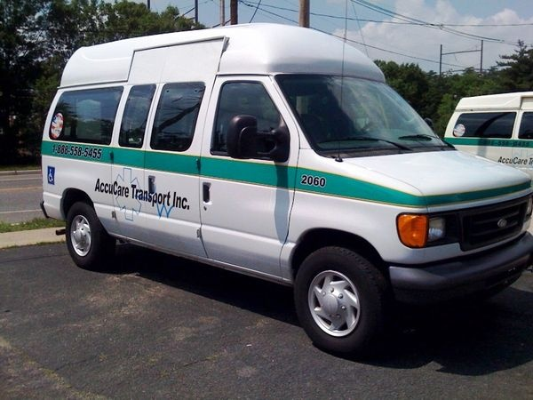 Partial Ambulance Graphics for hospital