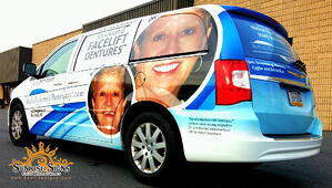 Chrysler Town and County Van Wraps NJ
