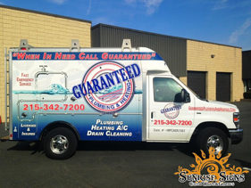 Philadelphia contractor fleet graphics