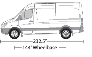 vehicle wrap templates for the mercedes sprinter cargo van. Black Bedroom Furniture Sets. Home Design Ideas
