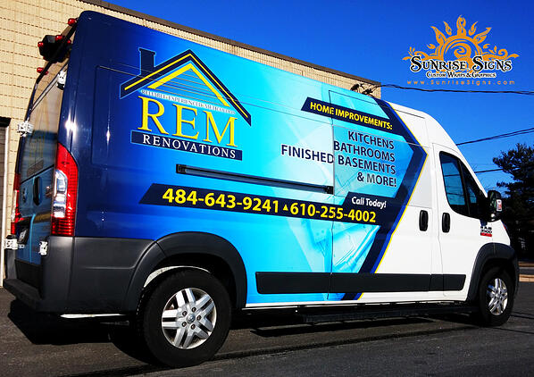 Vehicle Wraps Chester County PA