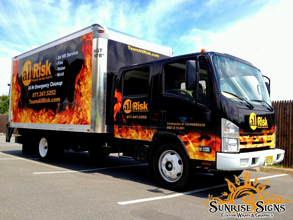 Nationwide contractor box truck wraps