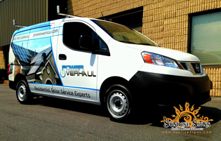 truck wrap templates - vehicle wrap templates for the nissan nv200