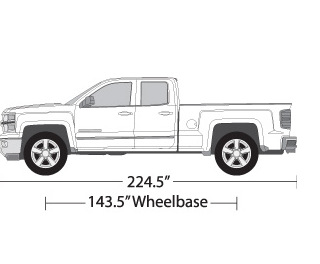 Chevy silverado vehicle wrap templates for Truck wrap templates