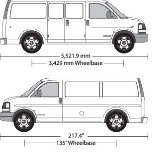 Chevy Express Van Templates Art Station