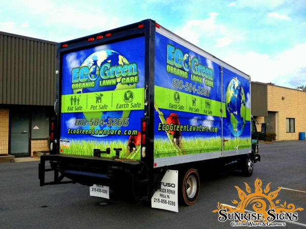 Montgomery County Box Truck Wraps for Contractors