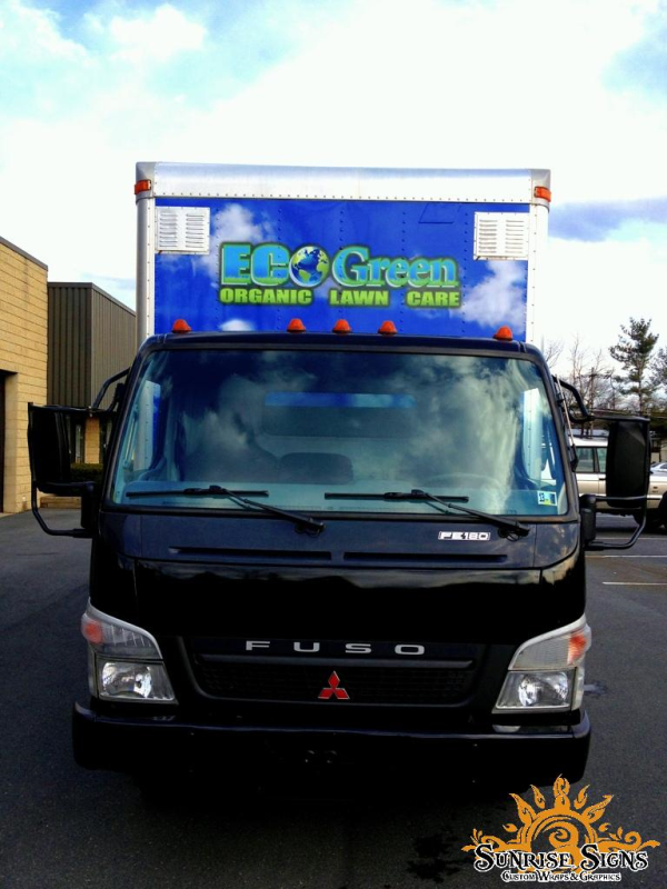 Contractor vehicle graphics and wraps
