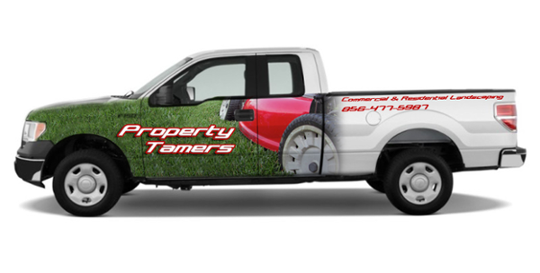 Landscape Contractor Truck Graphics
