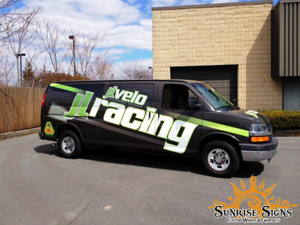 Chevy Express van wraps for retail stores