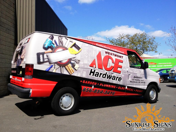 Ace Hardware Franchise vehicle wraps