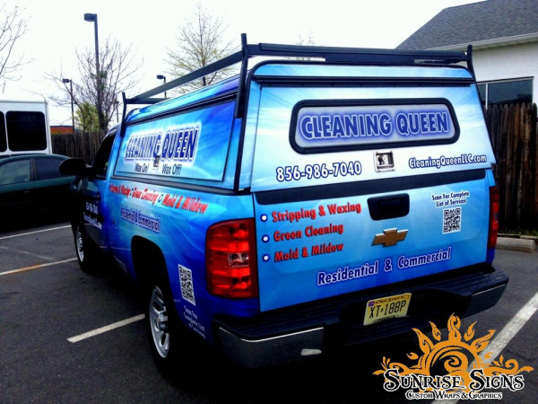 New Jersey contractor vehicle wraps