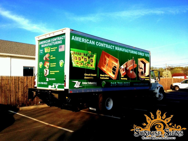 Box Truck Wraps and Graphics Bucks County PA